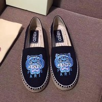 Kenzo Women Fashion Casual Flats Shoes