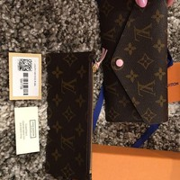 DCCKIN2 Brand New Authentic Louis Vuitton Josephine Wallet Baby Pink