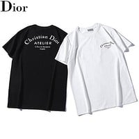 Dior Fashion Women T-shirt Top Tee