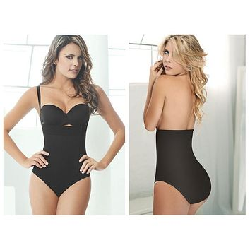 Ann Chery 1043 Powernet Body Fiorela Color Black