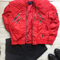80's Jacket-Red