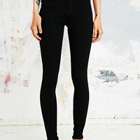 Dr. Denim Super High Rise Jeans in Black - Urban Outfitters