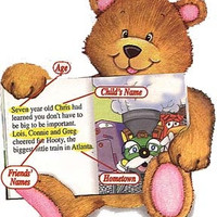 Teddy Bears Personalized Tea Party, Picnic- Children's Story Book - Made to order - Learning Toy