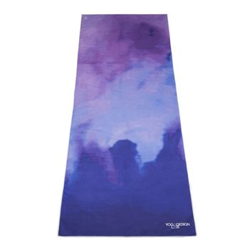 The Hot Yoga Towel. Eco-friendly, Lightweight, Insanely Absorbent, Non-slip, Microfiber Towel that Dries in Minutes! Ideal for Bikram, Hot Yoga, Pilates. Machine Washable. Printed w/ Water Based Inks.