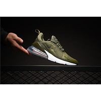 Nike Air Max 270 Olive AH8050-201 Sport Running Shoes