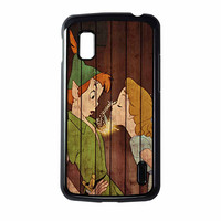 Wendy Kiss Peterpan Wood Nexus 4 Case