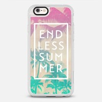 Pink Turquoise Ombre Palm Tree Beach Endless Summer iPhone 6s case by hyakume   Casetify