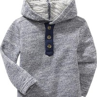 Old Navy Pullover Henley Hoodie For Baby