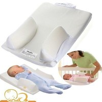 Baby Care Infant Newborn Anti Roll Pillow Ultimate Vent Sleep Fixed Positioner Prevent Flat Head Cushion [8834013388]