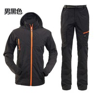 Hiking Shirt camping THE ARCTIC LIGHT Set Clothing Male Quick Dry Breathable Sport Suit Camping& Pants Men Long Sleeve Hunting Tactical KO_17_1