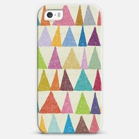 Analogouse Shapes in Bloom iPhone 5 case by Nick Nelson | Casetify