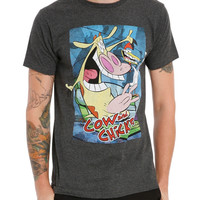 Cow And Chicken Poster T-Shirt