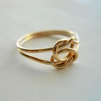 Love Knot 14k gold filled