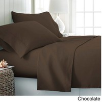 Sheets Set- 100% Soft Brushed Microfiber Bedding Deep Pocket Home Collection