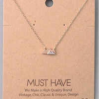 Must Have Mountain Top Necklace