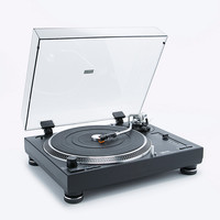 Lenco Professional Turntable in Black - Urban Outfitters
