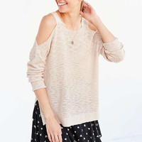 Kimchi Blue Olivia Cold-Shoulder Sweater - Urban Outfitters