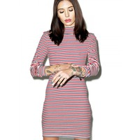 STRIPE SKIVY DRESS
