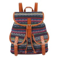 Interweave Canvas Backpack