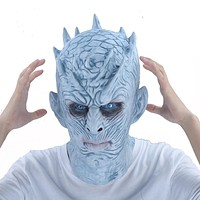 Game Of Thrones Halloween Mask Night's King Walker Face NIGHT RE Zombie Latex Mask Adults Cosplay Throne Costume Party Masks