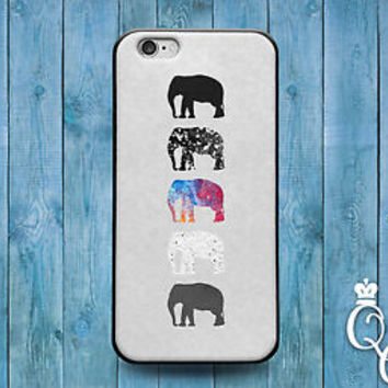 Cute African Elephant Silhouette Cool Cover Case iPod iPhone Girly Girl Adorable