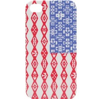 With Love From CA Tribal Print American Flag iPhone 4/4S Case - Womens Scarves - Red - NOSZ