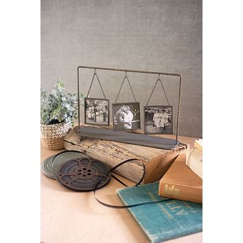 Triple Table Top Photo Frames