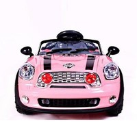GIRLS PINK MiniMotos 6V Mini RIDE ON Car With Remote CONTROL & Mp3 player so cute! big motors