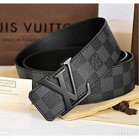 LV Louis Vuitton classic men's and women's belt