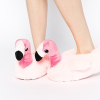 New Look Flamingo Pink Slippers
