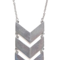 The 2 Bandits Garden Route Tie Necklace - Womens Jewelry - Silver - One