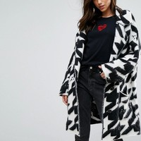 Diesel Monochrome Coatigan at asos.com