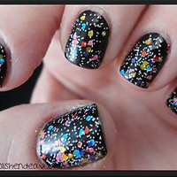 Snow Globe   CustomBlended Glitter Nail Polish / by lushlacquer