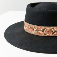 Telescope Felt Boater Hat | Urban Outfitters