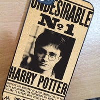 Harry Potter Undesirable Case iPhone 3Gs/4/4s/5/5s/5c, iPod 4/5/nano7, Samsung Galaxy s2/s3/s4/s5/note/ace2, HTC One/One X