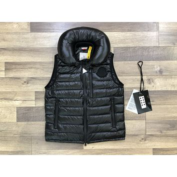 Moncler Men's Fashion Jacket women's Men's down Freestyle Vest