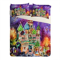 Ginette Fine Art Saint Basils Cathedral Russia Sheet Set Lightweight
