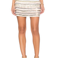 Tularosa x REVOLVE Crystal Skirt in White