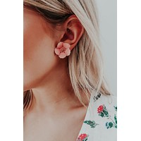 So Cute Earrings: Blush