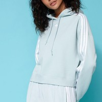 adidas Adicolor Green Cropped Hoodie at PacSun.com