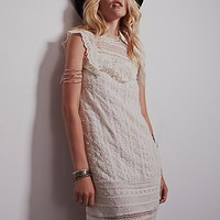 Free People Womens Victoria's High Neck Shift