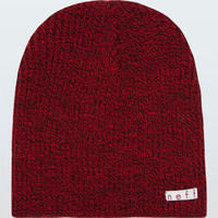 Neff Daily Heather Beanie Black/Red One Size For Men 16943837301