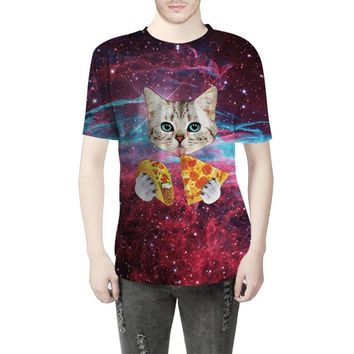 Star Cat Creative Digital Printing T-Shirt