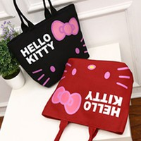 New Hello kitty Canvas Bag Shopping / Tote Bag Purse yey-1299