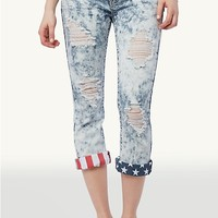 Stars & Stripes Crop Jean