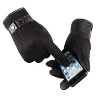 Warm Leather Top Quality Cycling Gloves