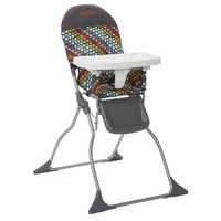 Cosco Simple Fold™ High Chair (Rainbow Dots) HC225DCD