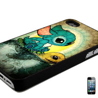 Stitch And Turtle iPhone 4, 4s or 5, 5s, 5c, 6, 6 Plus Back Case Cover