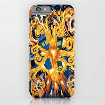 Exploded Blue Phone booth apple iPhone 4 4s, 5 5s 5c, 6, iPod & samsung galaxy s4 case