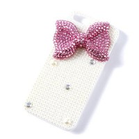 Bling Bow iPhone 5 Cover  | Claire's